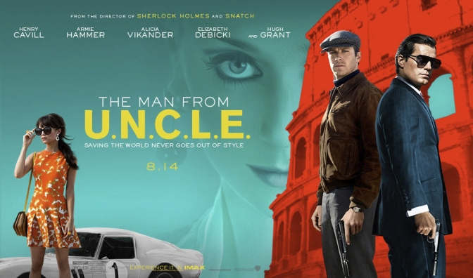 """The Man from UNCLE"" – Light, Breezy 60s Swagger & Spies"